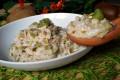 Risotto cremoso al kiwi e mandorle tostate