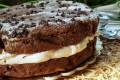 Torta Cookie morbida con mascarpone e nutella