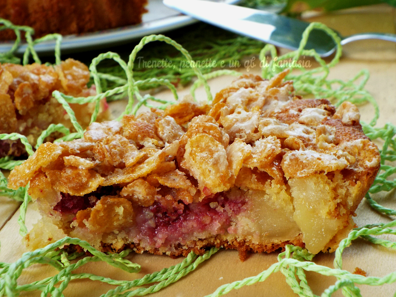 torta cornfalkes con mele