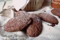 Biscotti ovali cioccocaffé...con albumi
