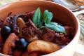 Zuppa saporita di moscardini e ciuffi di polpo