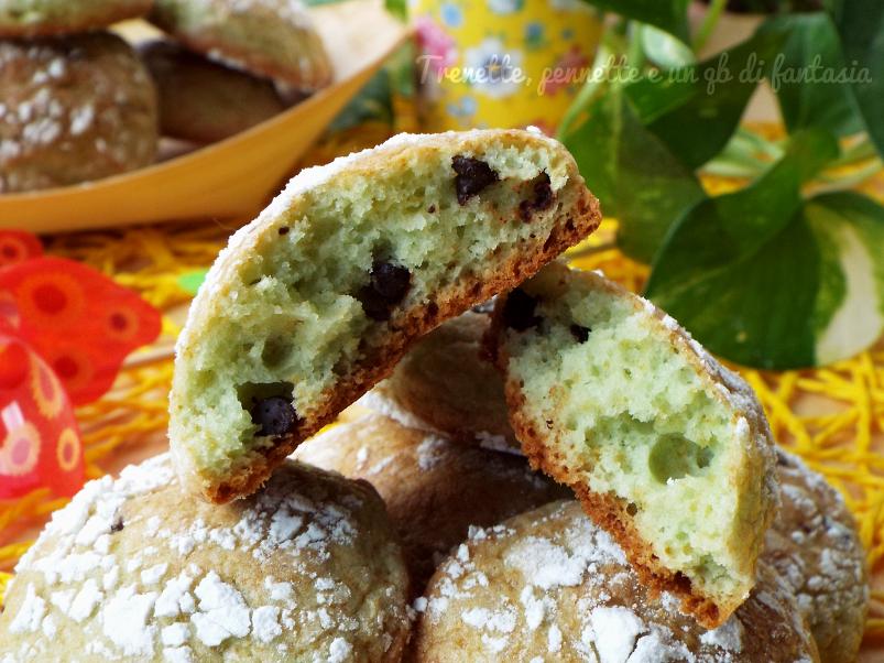 Super Biscotti alla menta e gocce di cioccolato | QR65