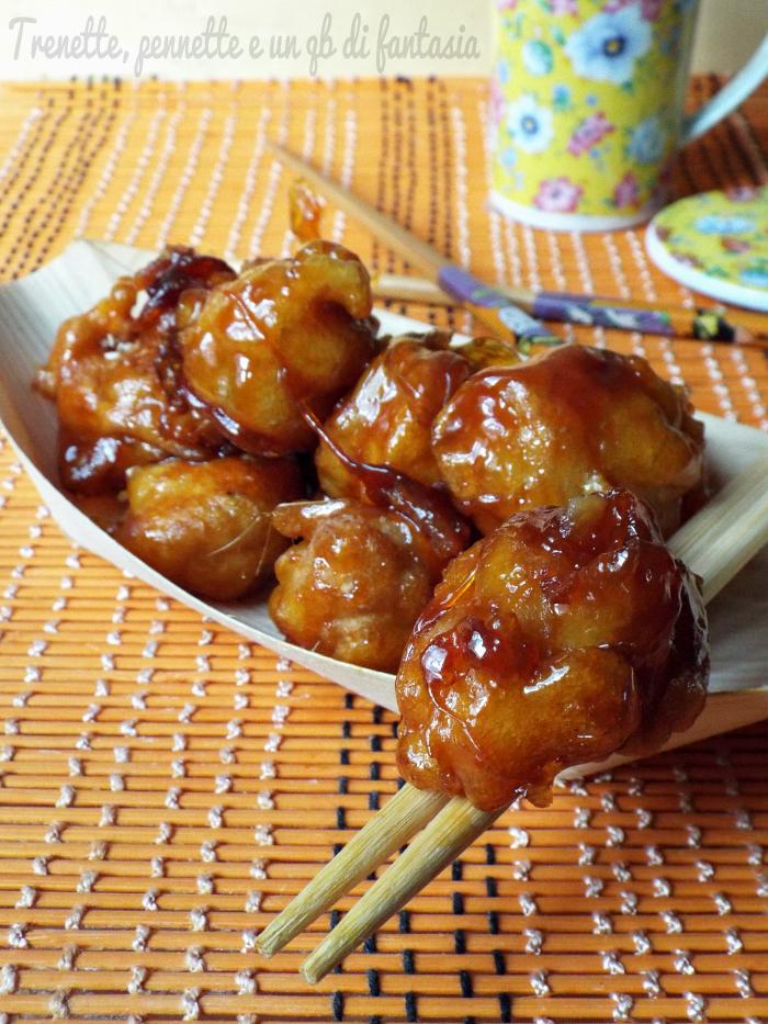 Banane caramellate... alla cinese ricetta