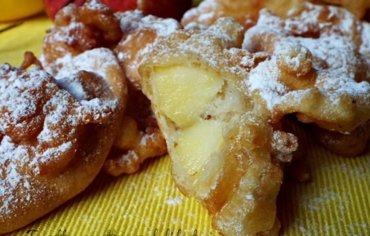 Spicchi di mela in fritella..ricetta facile