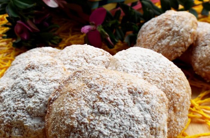 Biscotti con marmellata di castagne e cioccolato bianco