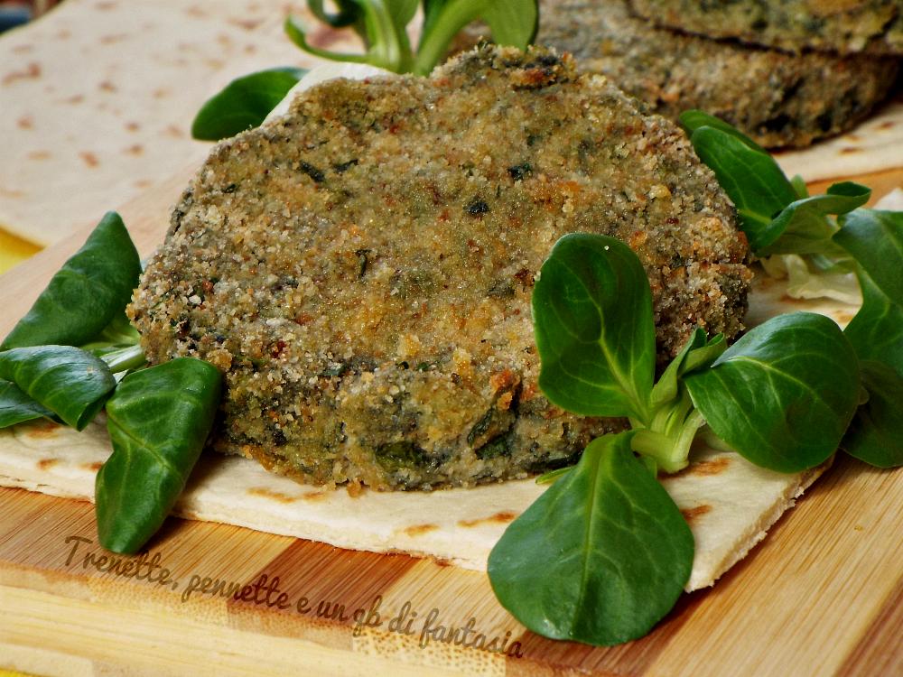 Estremamente Hamburger di pane, spinaci e ricotta | HK57