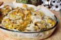 Pappardelle gratinate con carciofi croccanti