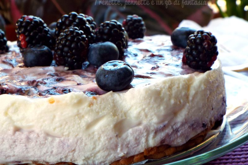 Cheesecake mascarpone e yogurt greco