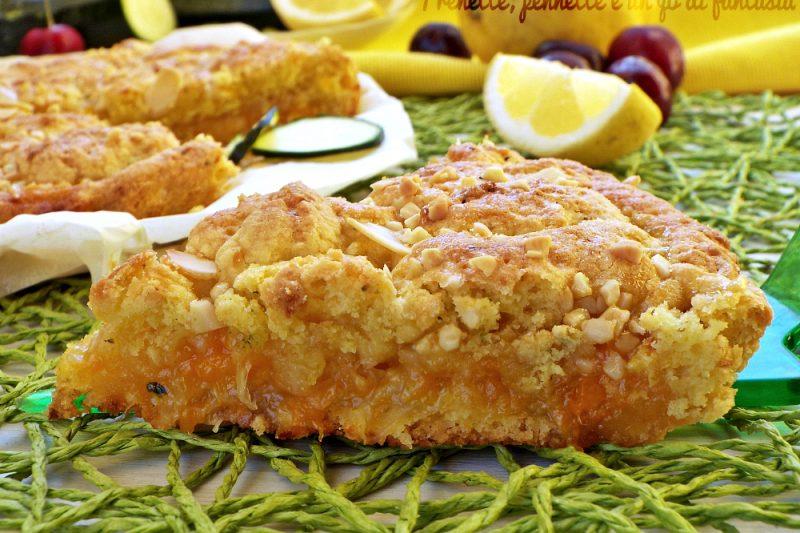 Crostata morbida zucchine e limone