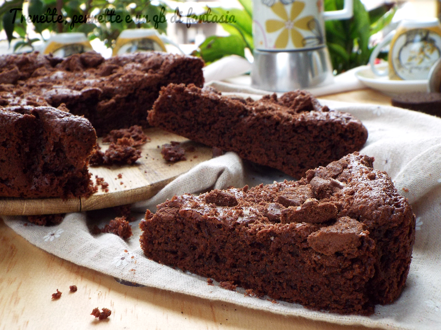 Torta brownie e fondi di caffè ricetta
