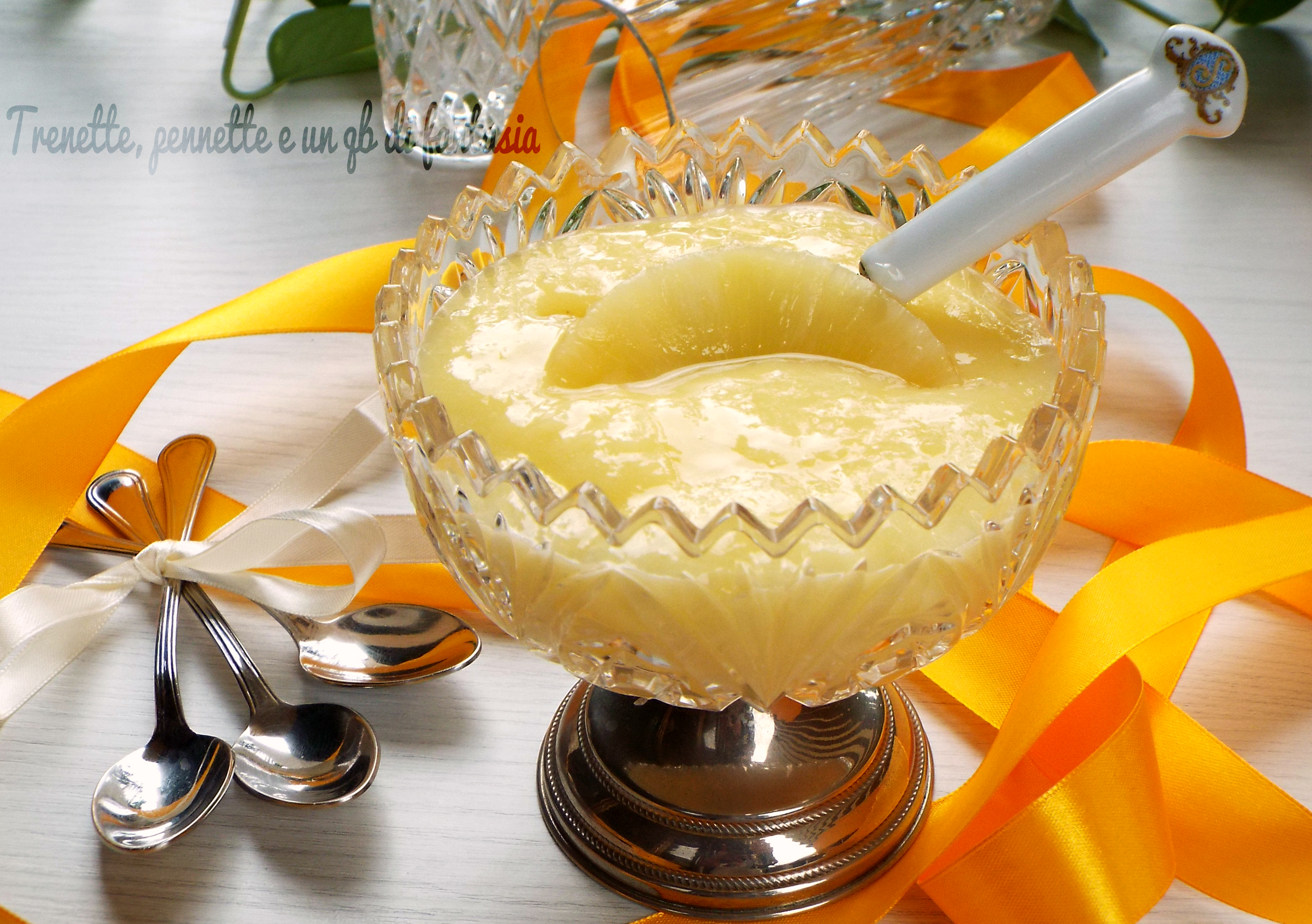 Crema all'ananas