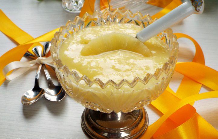 Crema di ananas senza latte|ricetta