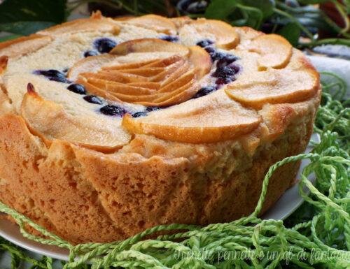 Torta in crosta con crema di mela al mascarpone