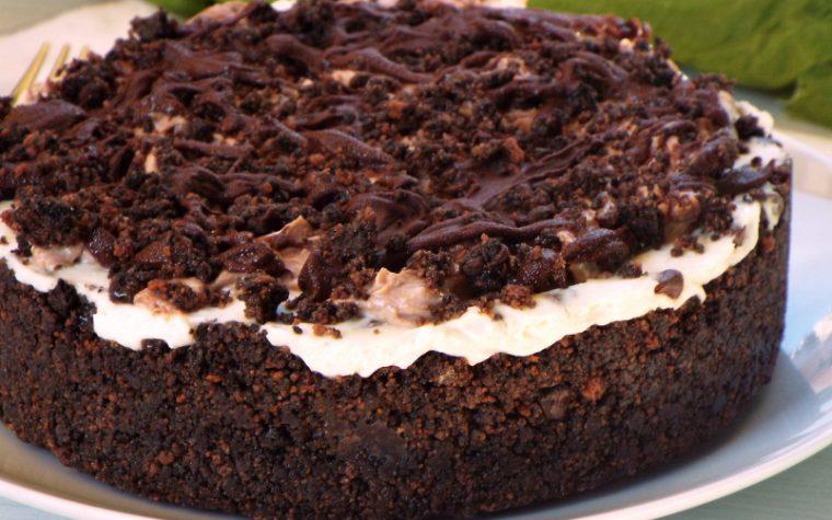 Cheesecake cioccolato mascarpone e nutella