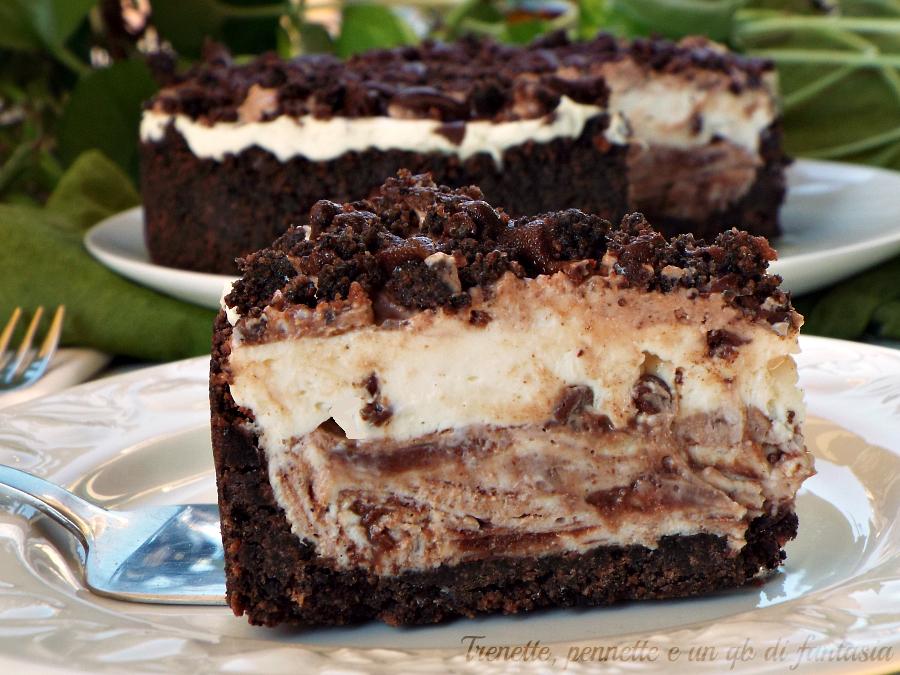 Cheesecake cioccolato mascarpone e nutella ricetta