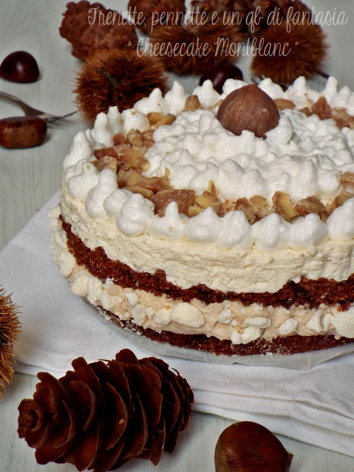 Cheesecake Montblanc