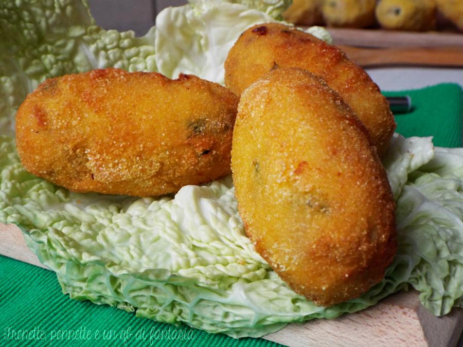 Crocchette di patate e tonno profumate al limone