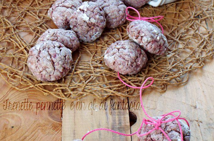 Biscotti morbidi ai lamponi