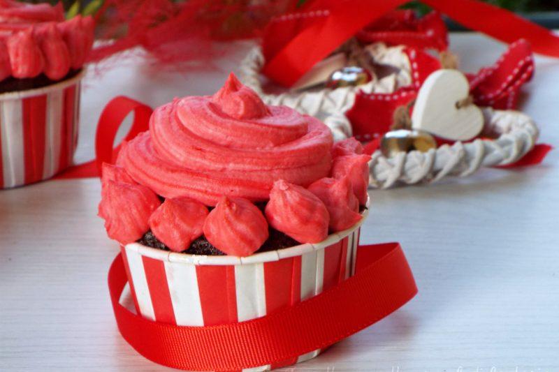 Tortini San Valentino dolci al cacao