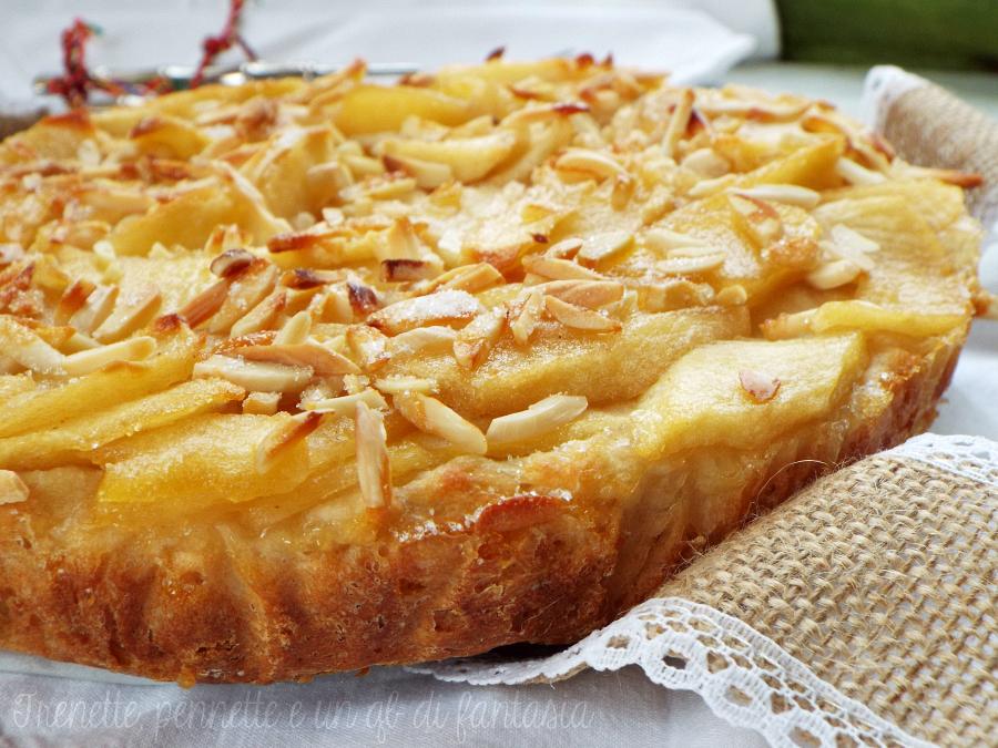 Torta di mele senza uova |dolce lievitato