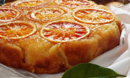 Torta rovesciata all'arancia..pronta in 5'