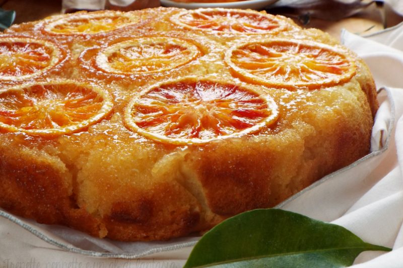 Torta rovesciata all'arancia..pronta in 5′