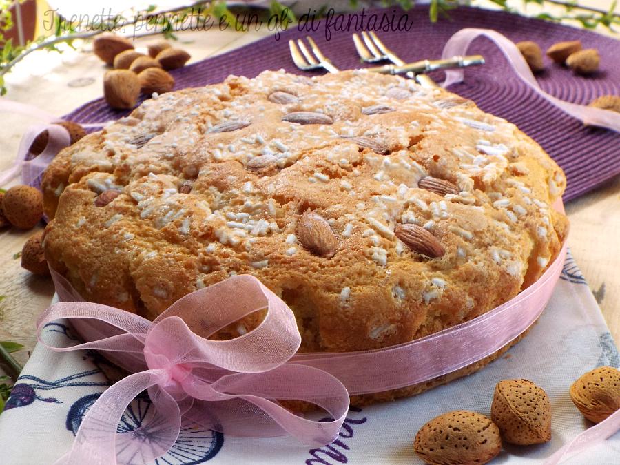 Top Torta Colomba al latte di mandorla |Trenette, pennette e un qb di NG27