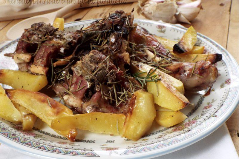 Abbacchio al forno con le patate