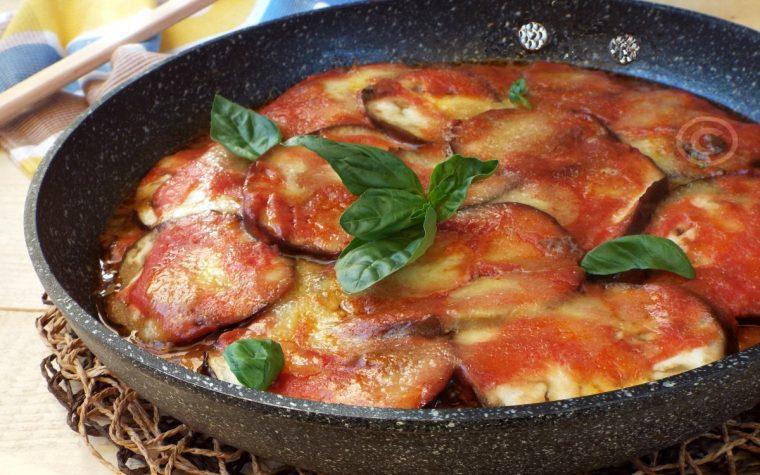 Melanzane alla parmigiana..cotte in padella