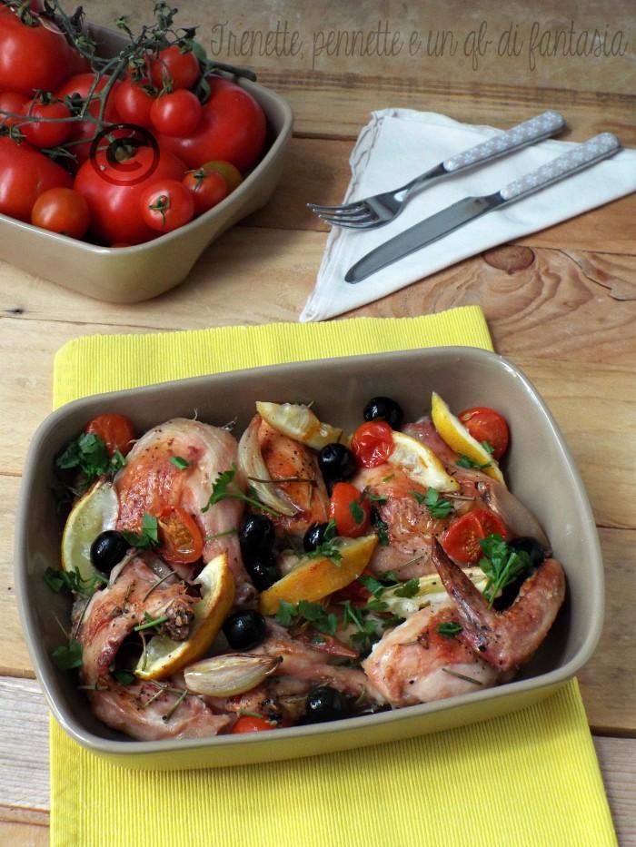 Pollo alle olive e ciliegino