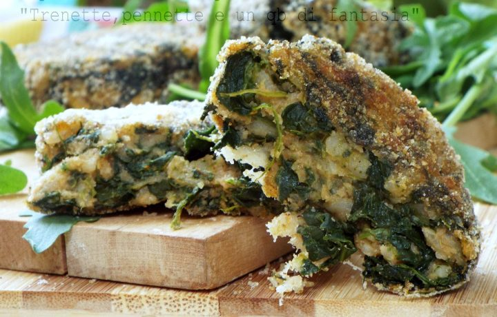 Polpette di riso e spinaci…cotte al forno