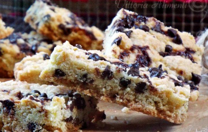 Quadrotti ai cookies |ricetta semplice