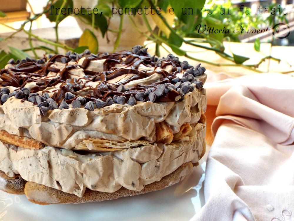 Torta semifreddo al