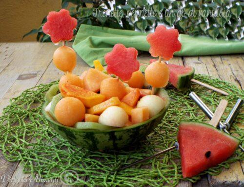 Macedonia di frutta estiva…