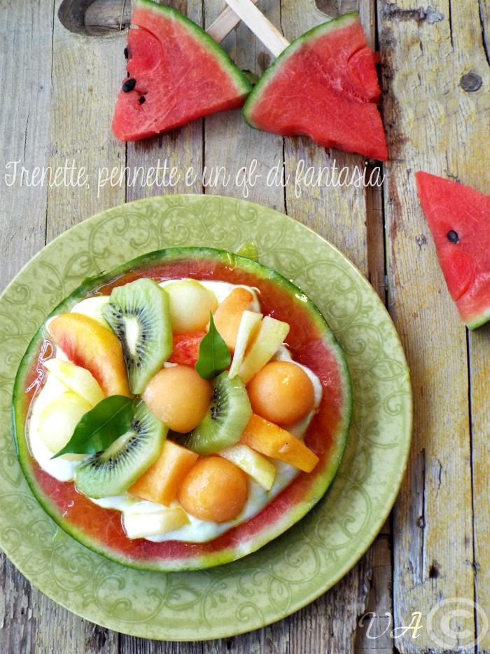 Torta frutta anguria