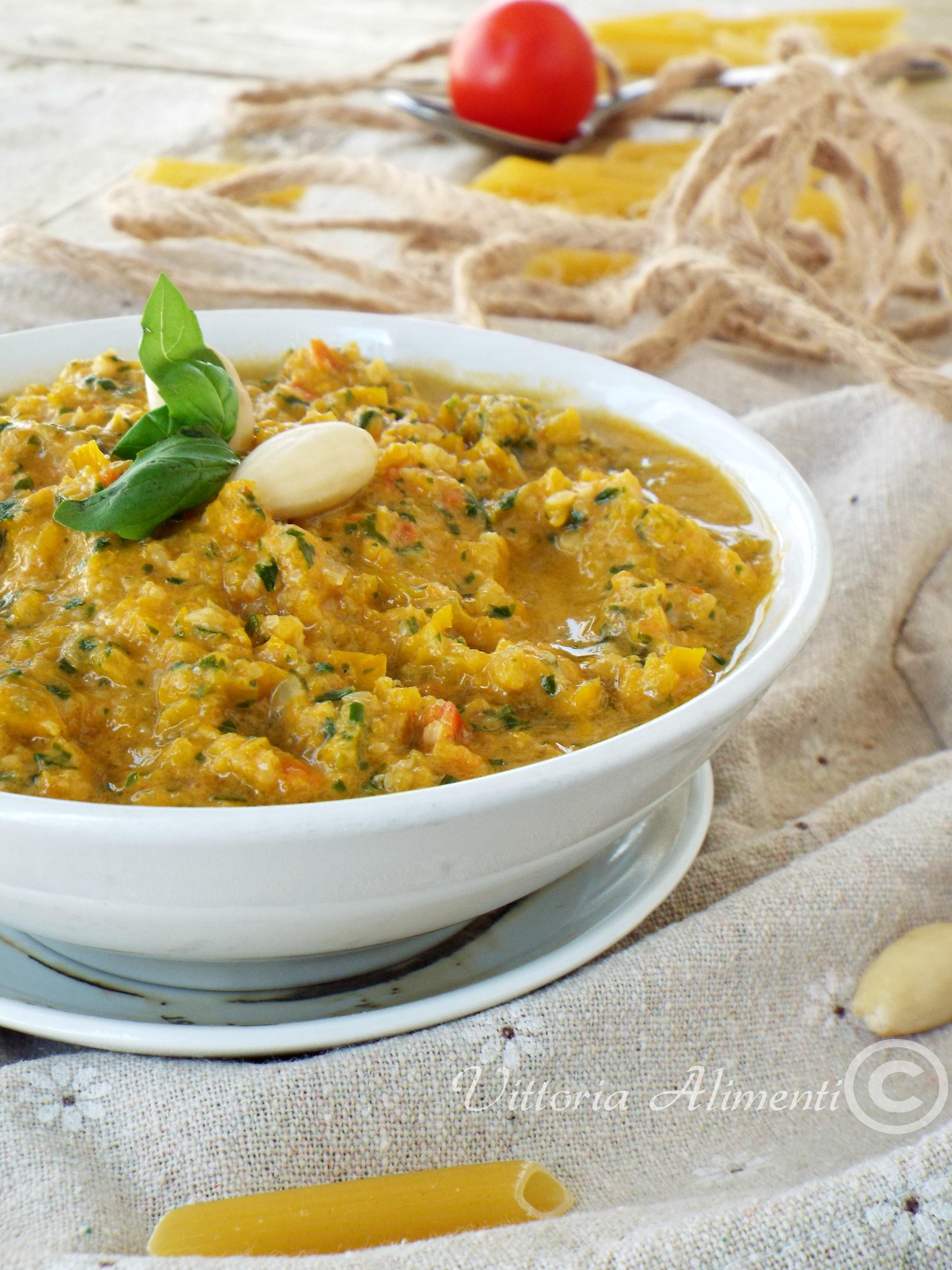 Pesto giallo di peperone
