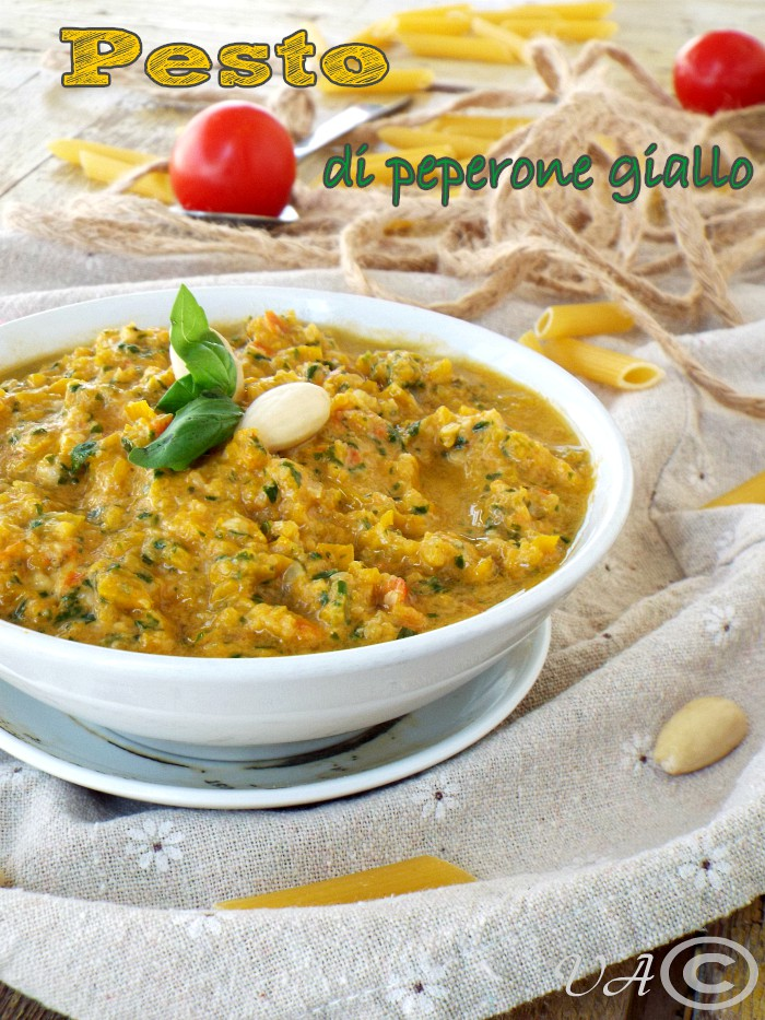 Pesto di peperone giallo