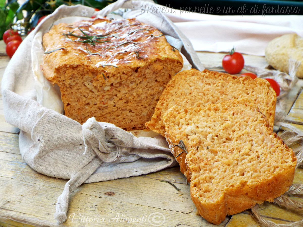 Pan brioche al concentrato di pomodoro