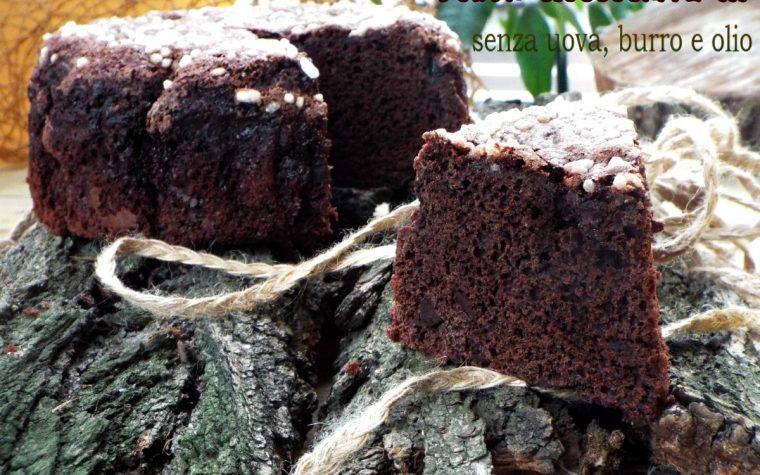 Torta cioccocaffè..senza uova, burro e olio