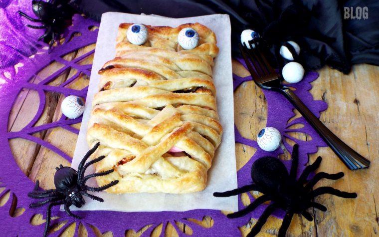 Mummia Halloween…con banana, cioccolato e marshmallow !!