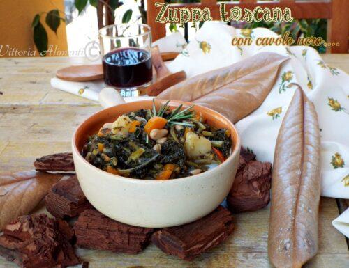 Zuppa toscana con cavolo nero