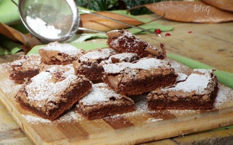 Brownies semplici e golosi