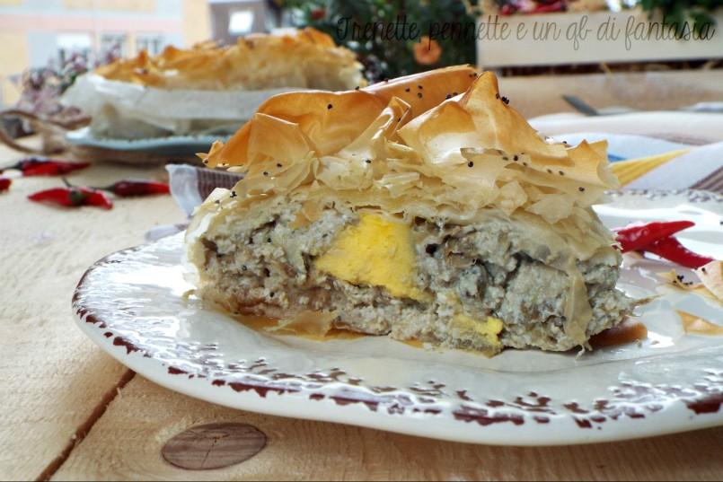 Torta Pasta Fillo Con Carciofi E Uova Trenette Pennette E Un Qb Di