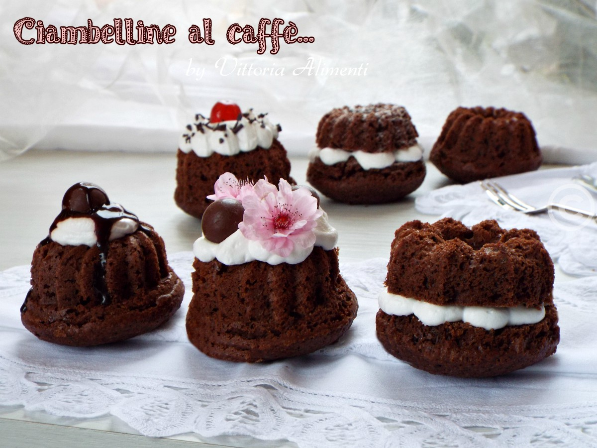 Ciambelline al caffè semplici