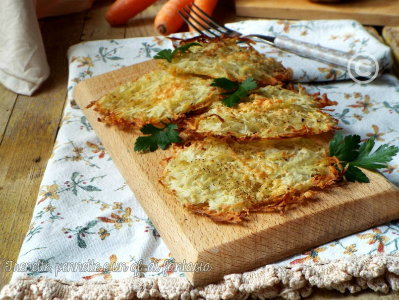 Rosti di patate-ricetta facile