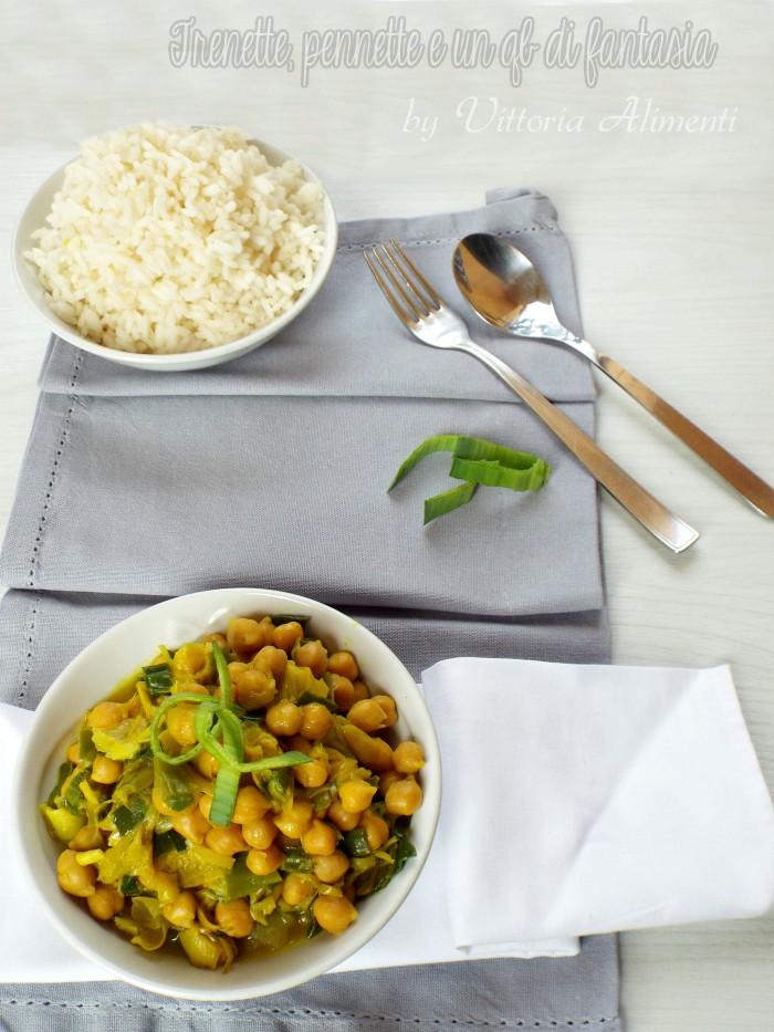 Ceci curry e porro