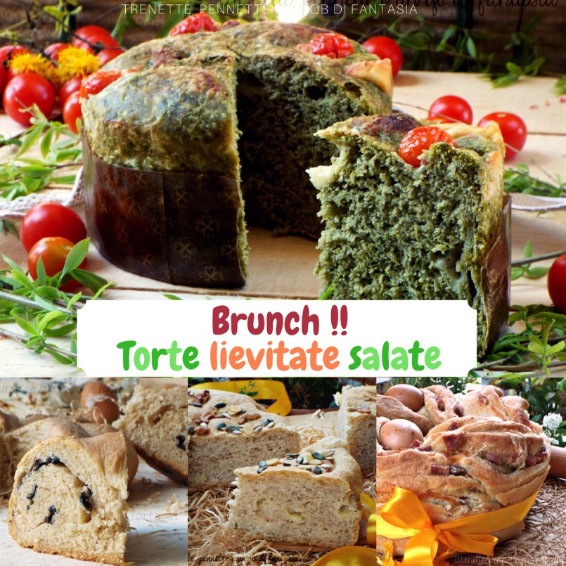 Torte lievitate salate