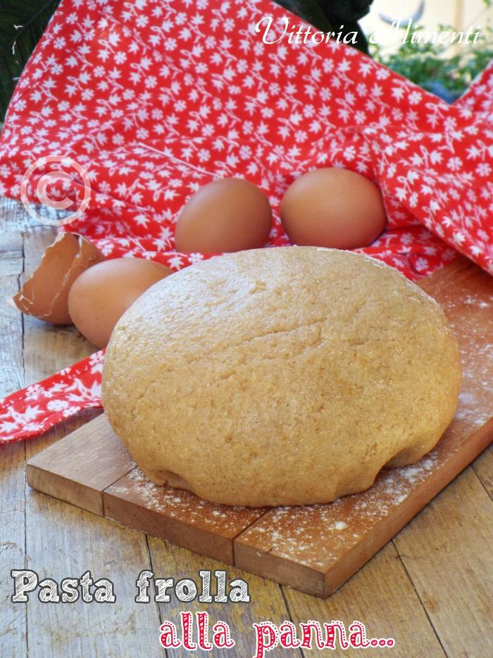 Pasta frolla alla panna