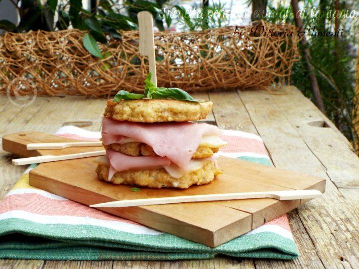 Sandwich di frittatine