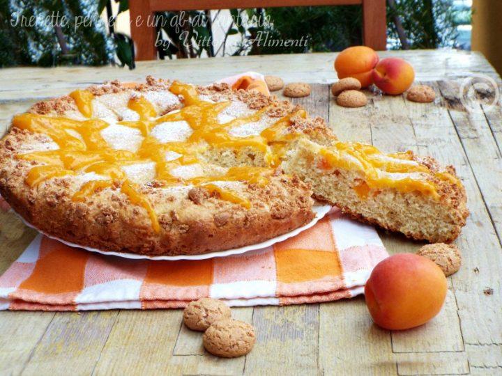 Crostata morbida con albicocche